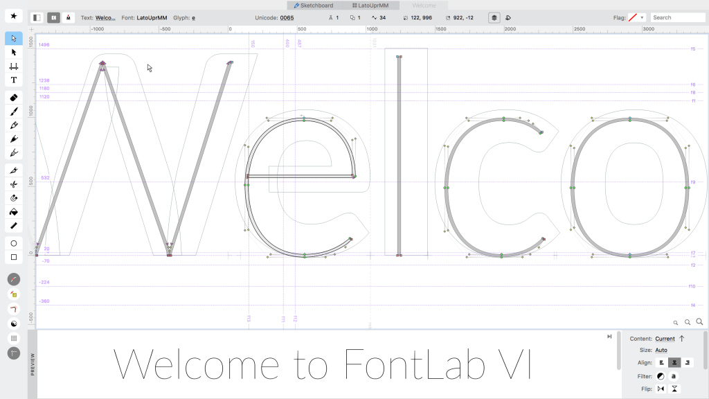 FontLab VI is here. Well, almost