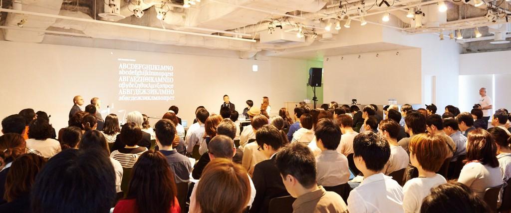 Type & – typographic event in Tokyo