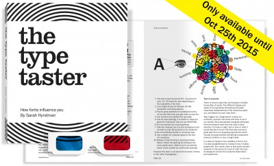 The Type Taster: How fonts influence you by Sarah Hyndman