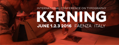 Kerning – international conference on typography