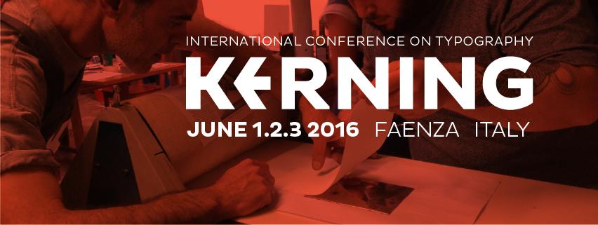 Kerning – international conference on typography