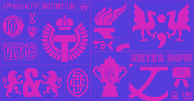 The 62nd Type Directors Club competition