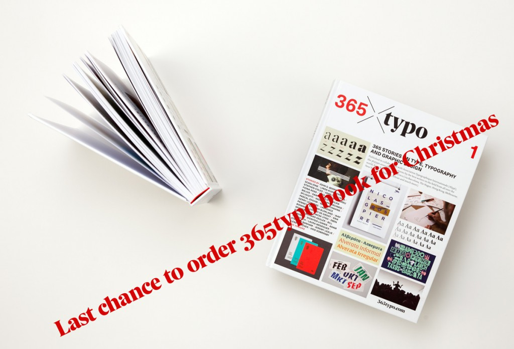 Last chance to order 365typo book for Christmas