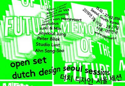 Open Set 2016 – Dutch Design event in Seoul