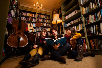 The Bookshop Band will be playing at the St Bride Library