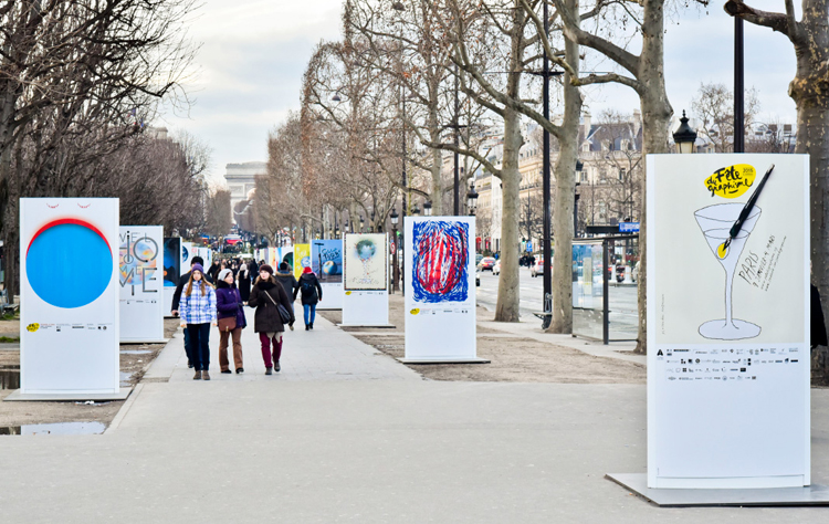 39 Posters Brighten the City of Light