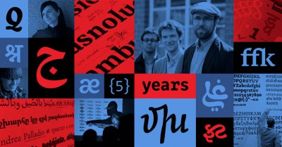 Rosetta type foundry turned five