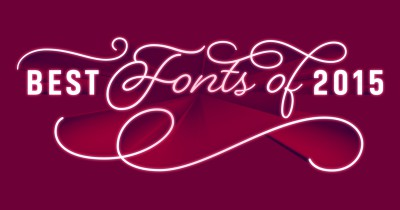FontShop's best fonts of 2015