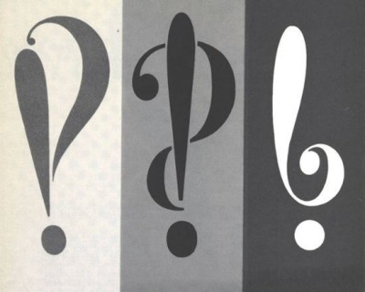 What is the interrobang‽