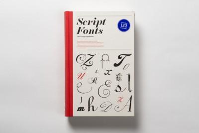 New book –  Script Fonts by Geum-Hee Hong