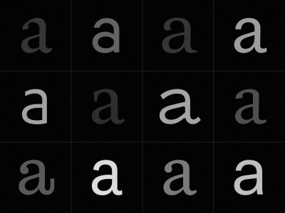 Why we need new typefaces