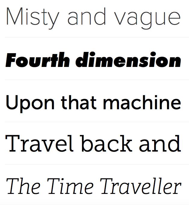 The rich (typefaces) get richer