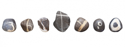 This guy collected a complete stone alphabet over 10 years