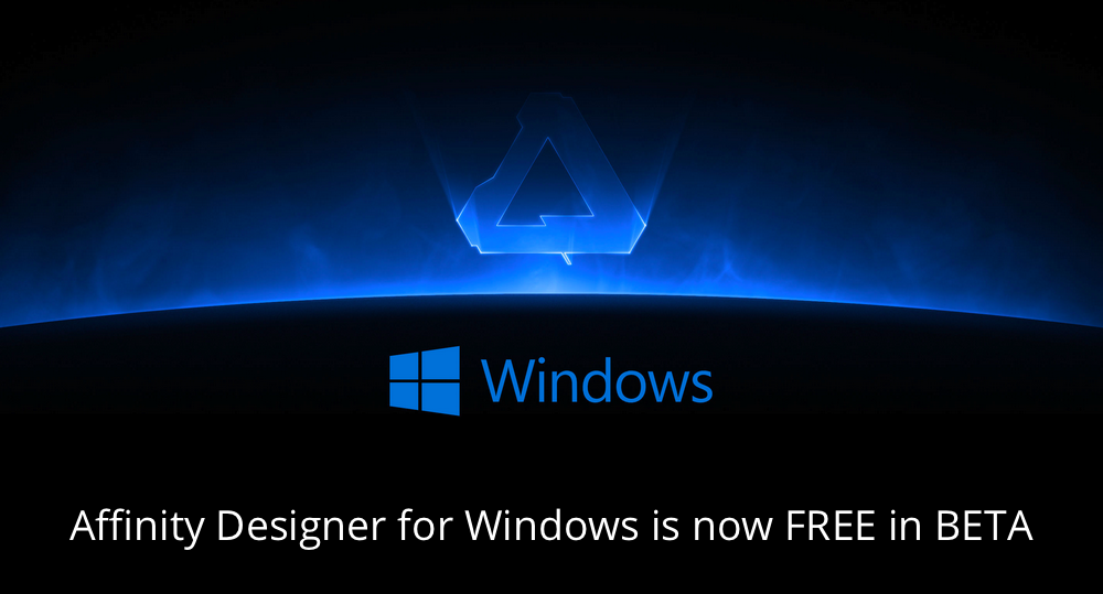 Affinity Designer for Windows is now in beta