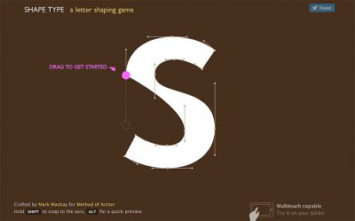 Try Shape Type, a letter shaping game