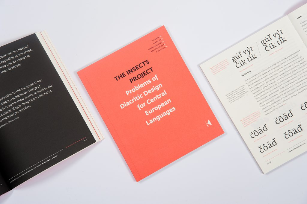 The Insect Project – a new book on Central European diacritics