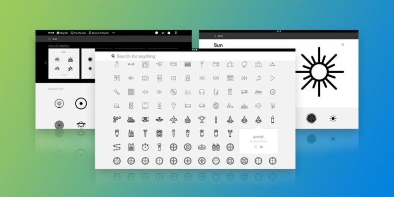Noun Project Unlimited Icons