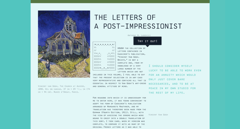 Type specimens on the web, an interview with John D. Jameson