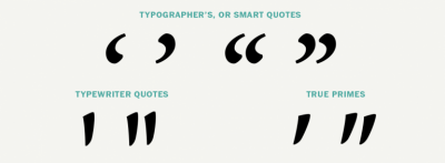 What are smart quotes & how should you use them?