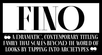 New release – the dramatic Fino