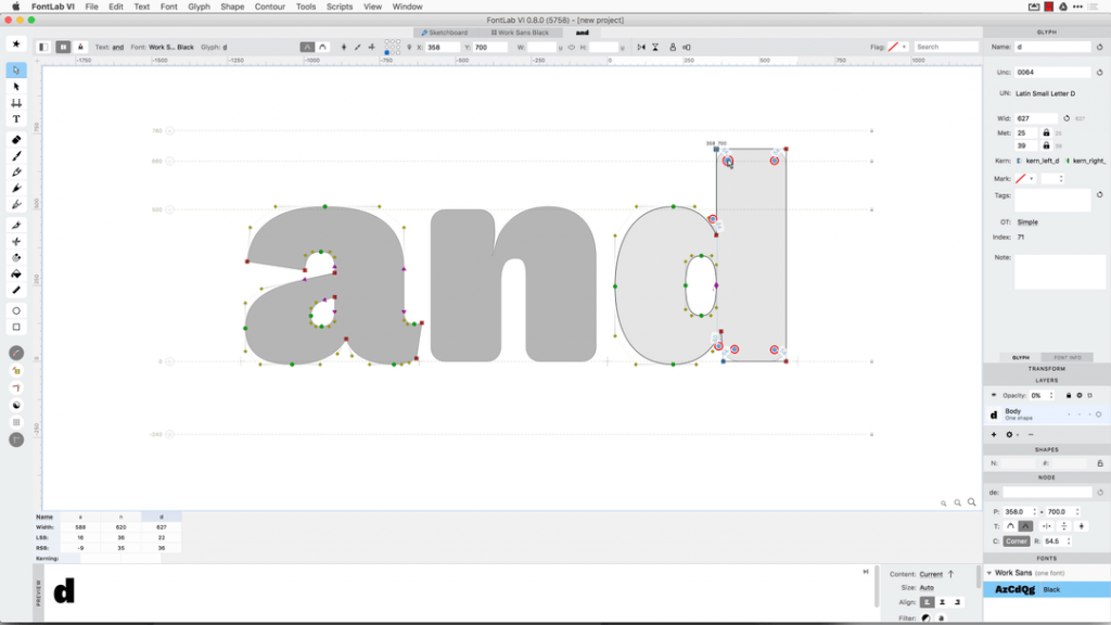 FontLab VI Public Preview for Mac and Windows available