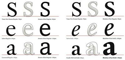 New legibility designs – old tricks, new technology