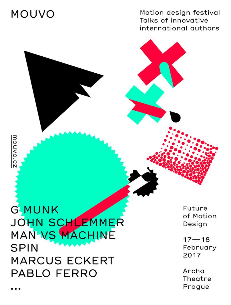 Mouvo – motion design festival in Prague