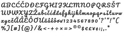 The Google Font Improvement Project