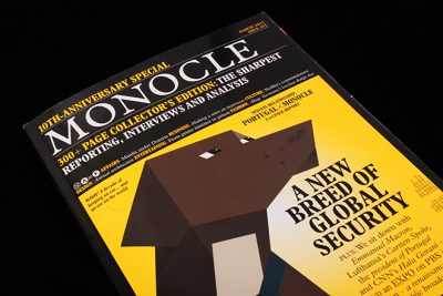 Magazine of the week – Monocle, redesigned