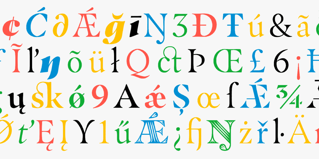 Masqualero – a new typeface by Jim Ford