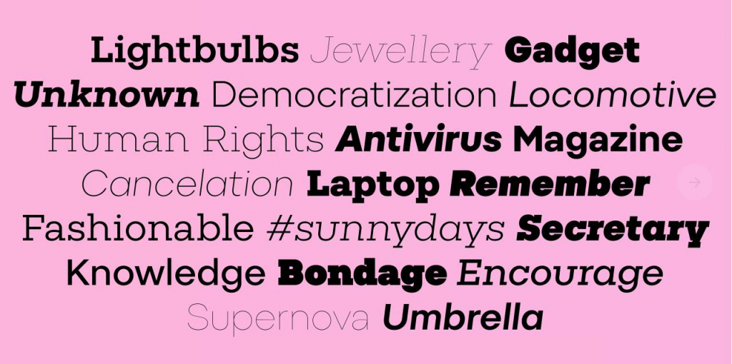 Pepi and Rudi – a new superfamily by Suitcase Type Foundry