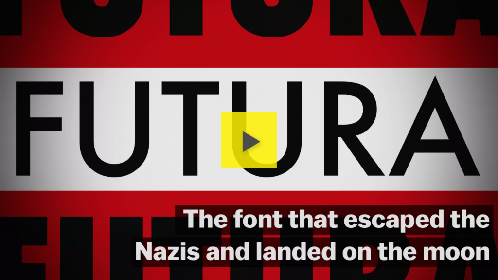 The font that escaped the Nazis and landed on the moon