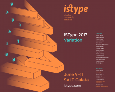 ISType 2017 – Istanbul typography seminars