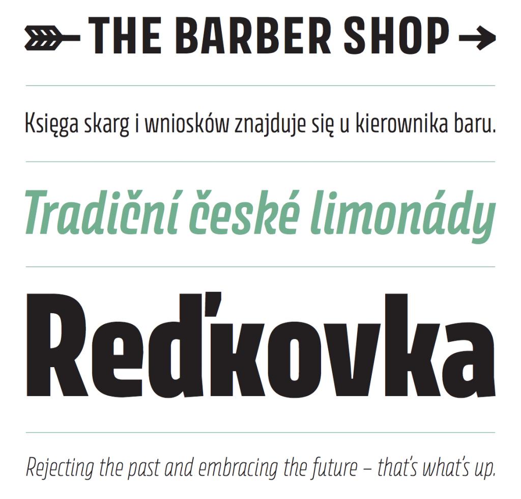 New typeface: Avory by Rosetta Type Foundry