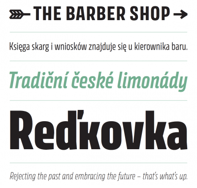New typeface: Avory by Rosetta Type Foundry