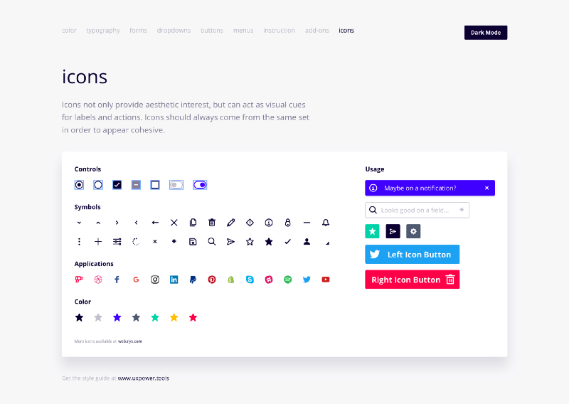 The most efficient way to use icons if you're a designer or developer
