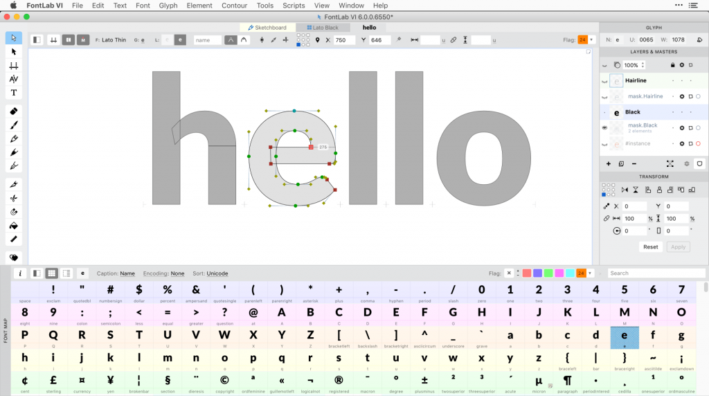 FontLab VI for Mac and Windows is here, finally