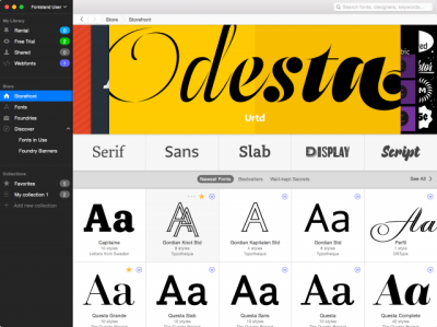 Fontstand now available for Windows